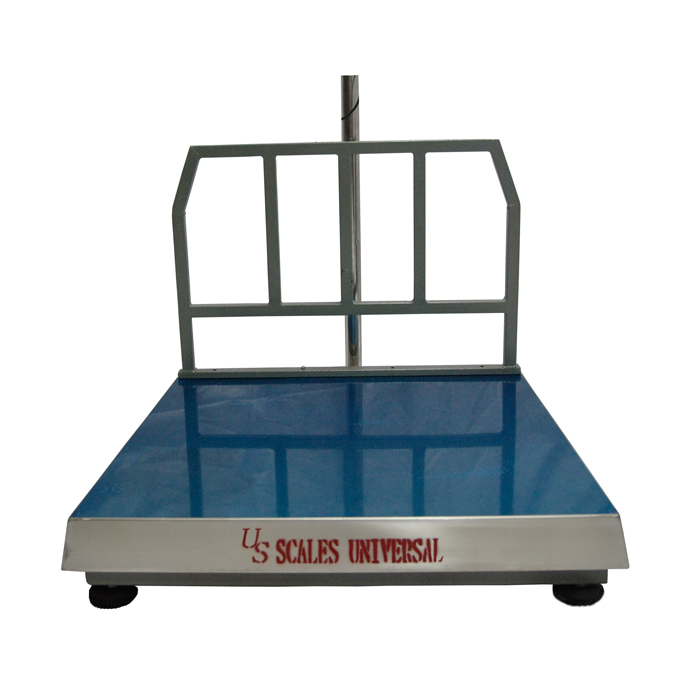 Bench Scale 800 x 800mm with Back grill and top cover Image